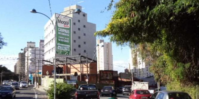 Campinas Rua Cel Quirino x Av Aquibadã