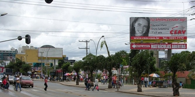 brasilia Via Comercial Norte Sul