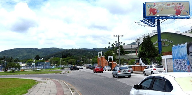 florianopolis Av. Beira Mar Norte UFSC