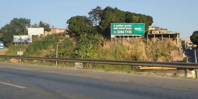 minas gearis BR 040 Km 529