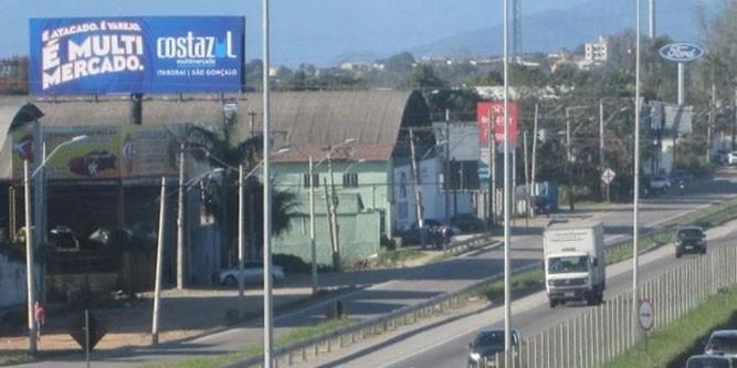 rio de janeiro BR 101 Rio Manilha Itaborai